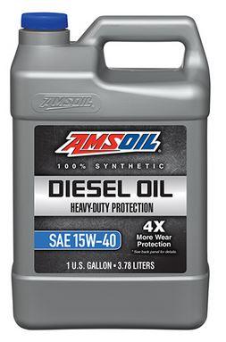AMSOIL Heavy-Duty Synthetic Diesel Oil 15W-40